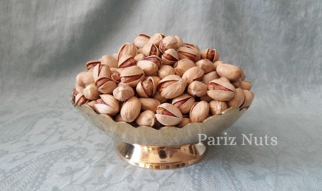 Round Pistachio Fandoghi Pariz Nuts