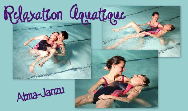 watsu, massage dans l'eau, atma, janzu