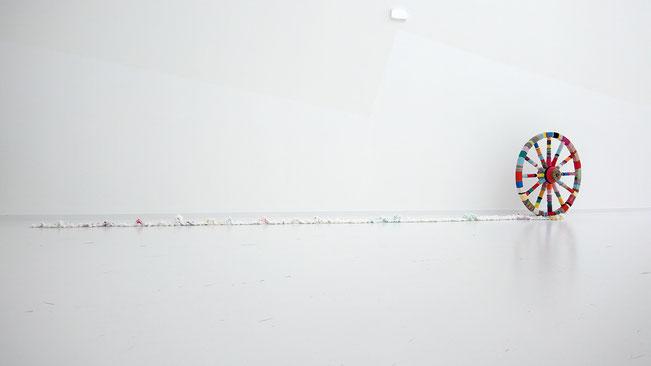 Tissage Mural - Wall hanging weaving - Alchimagic - Sylvie Martin Rodriguez