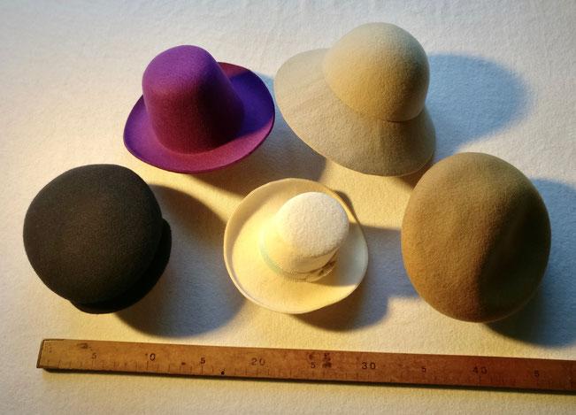 Stylische Hüte