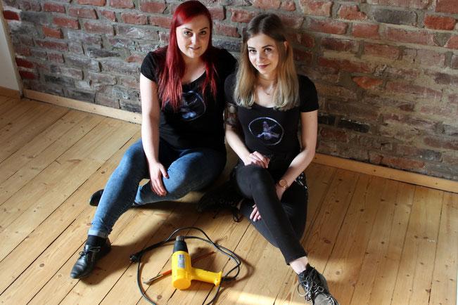 FANwerk Partner Craftingspace Miriam und Jackie