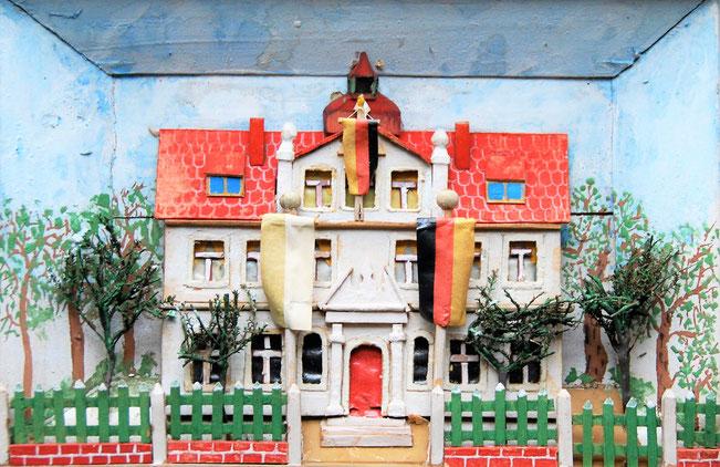 Die Maxener Schule als Diorama, Foto: M. Simon