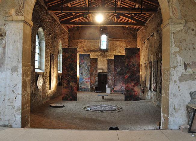 La richesse des décors en fait un site remarquable pour des expositions