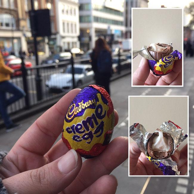 Das beruehmte Cadbury Creme Egg aus England l wie schmeckt es wirklich l Haul aus London
