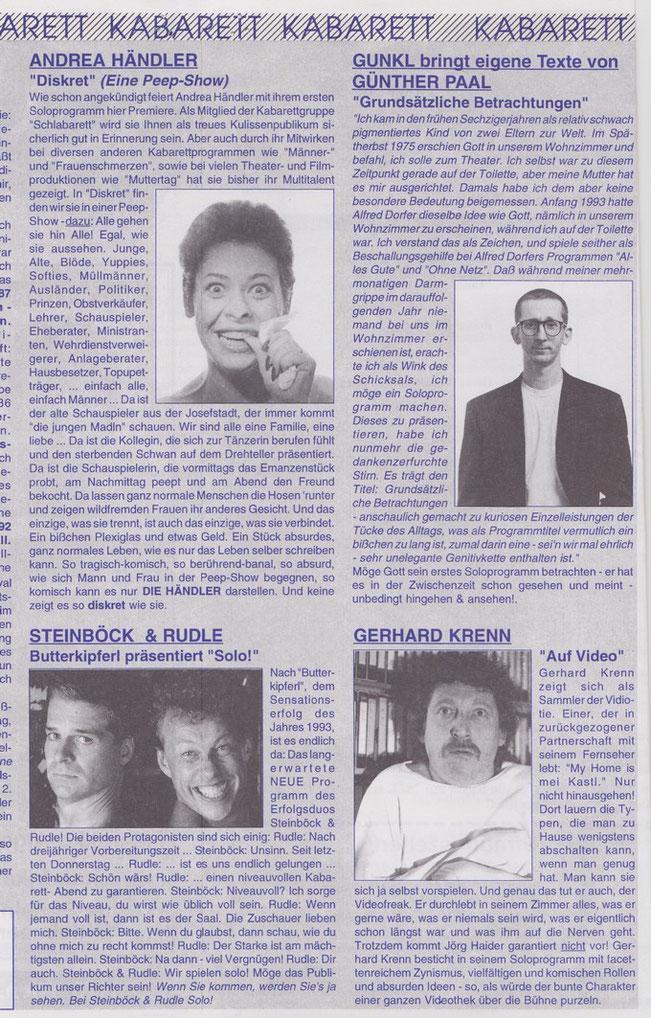 KULISSE 1995