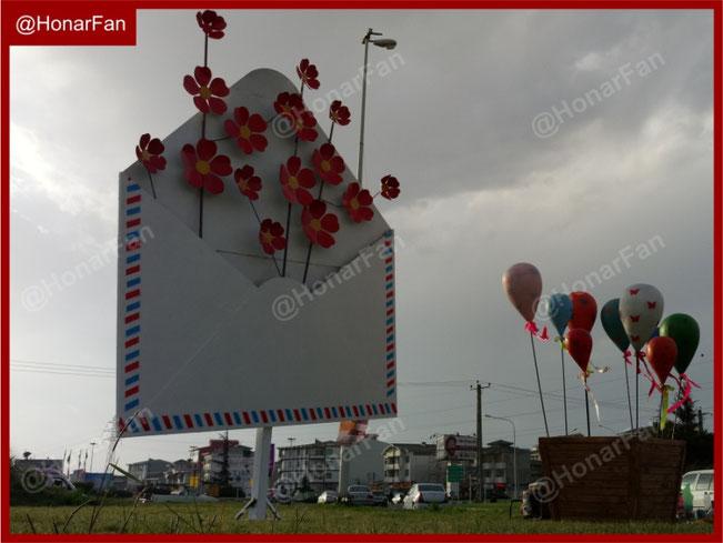 المانهای شهری تهران زیباترین المانهای شهری جهان مبلمان شهری و المان شهری هنر فن سازنده المان نوروزی نماد یا نمادین شهری مذهبی فلزی