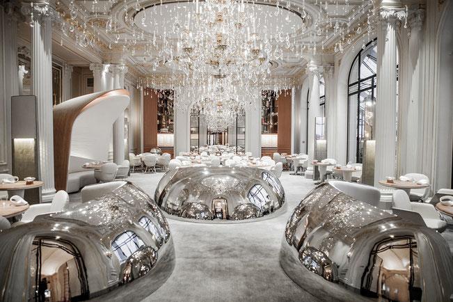 Hotel Restaurant Plaza Athénée à Paris, ré-ouverture en août 2014