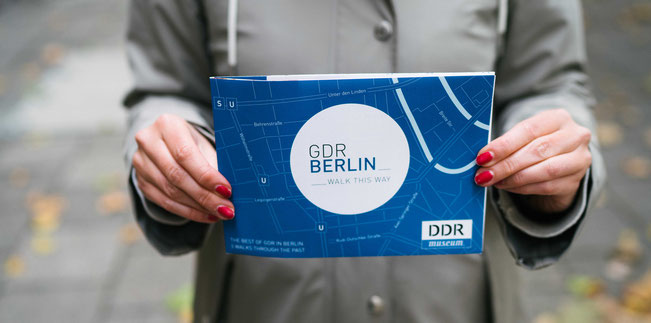 GDR Berlin map
