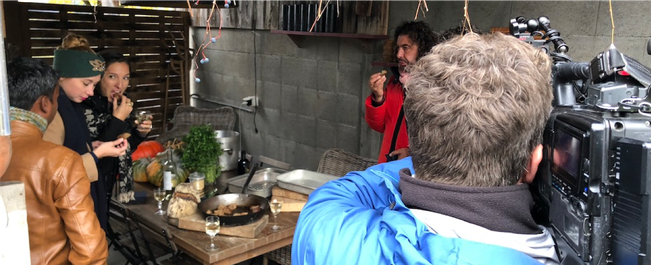 chillfood - feuerkochen an ungewöhnlichen orten
