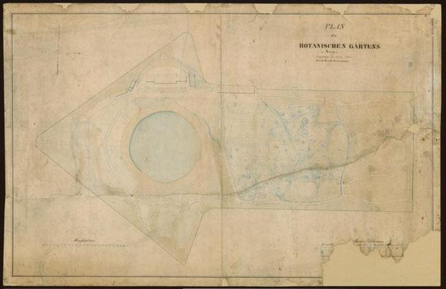 Der Gartenplan 1835 - ULB Münster