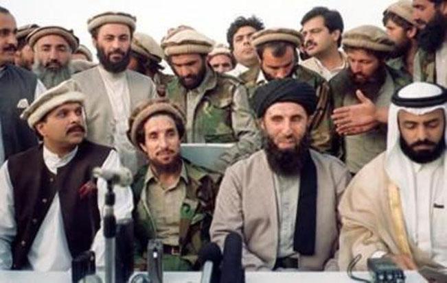 گلبدین و احمد شاه مسعود