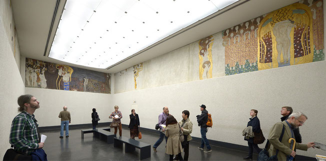 「歓喜の歌」(右の壁)