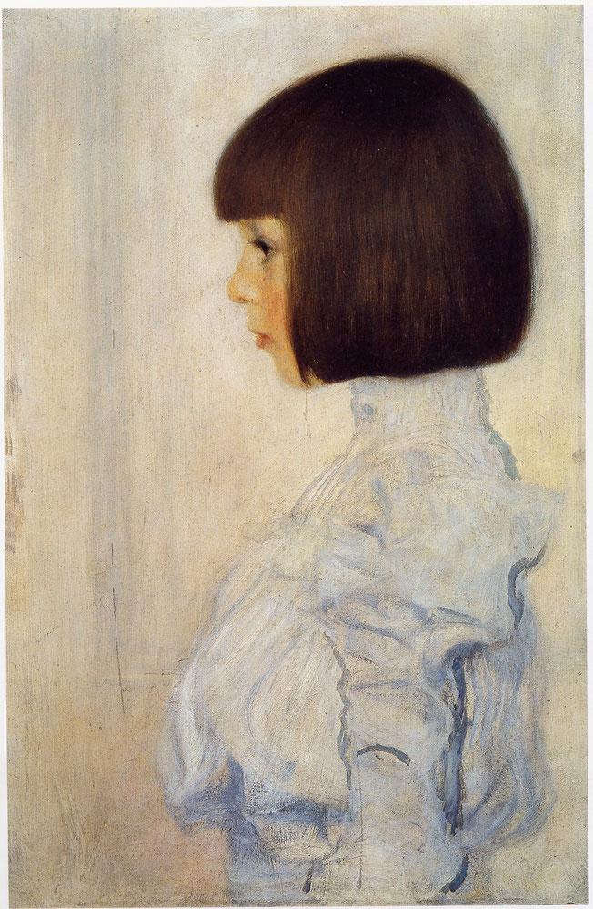 《ヘレーネ・クリムトの肖像》1898年