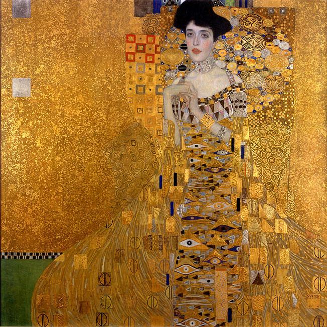 ※1:《アデーレ・ブロッホ=バウアーの肖像 I》1907年