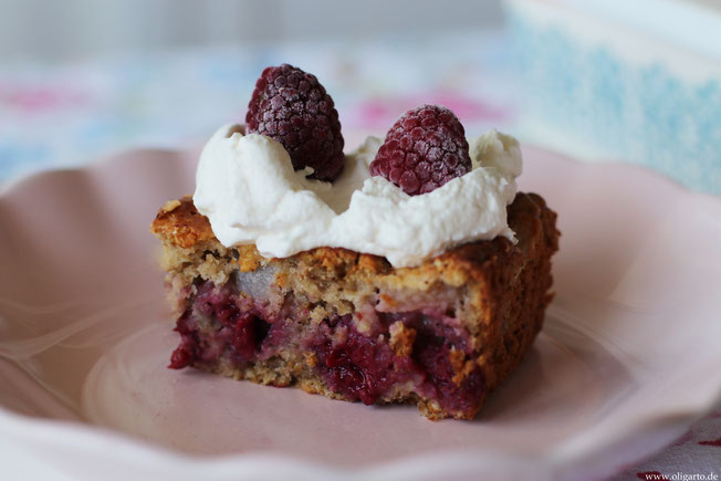 Haferflockenkuchen mit Obst gesunde Rezepte Oligarto Blogzine