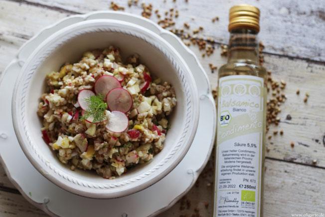 Buckwheatsalad with fennel and radish recipe Oligarto