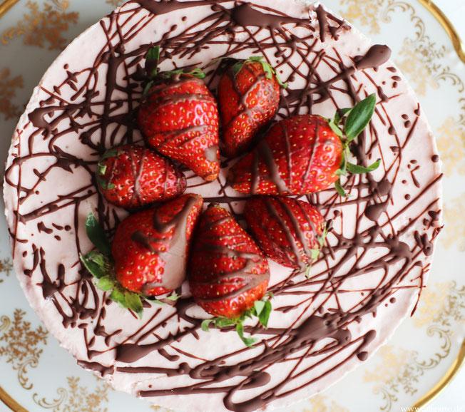 Erdbeer Käsesahnekuchen Oligarto Rezepte