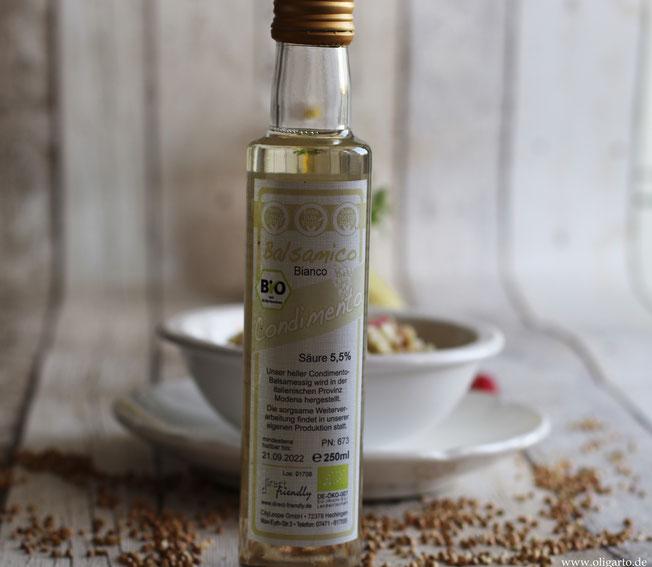 dierct&friendly  Balsamico bianco condimento Oligarto