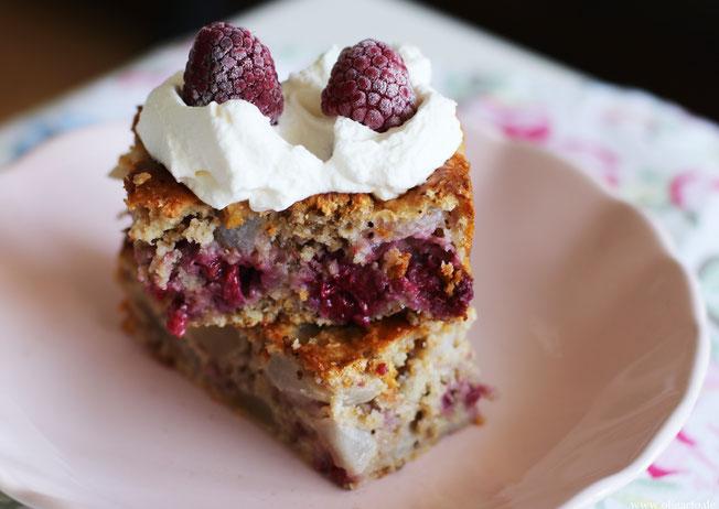 Haferflockenkuchen mit Obst Rezepte Oligarto Blogzine