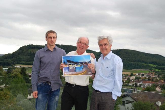 Pressekonferenz Original Fricktal mit Alex Uehlinger, Martin Binkert, & Thomas Hugenschmidt