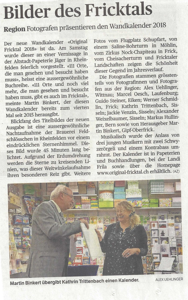 Original Fricktal Aargauer Zeitung