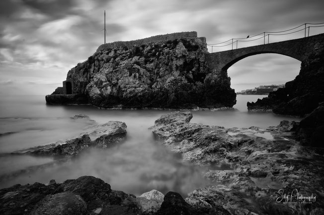Mallorca / Cala Major, Steinbrücke, Langzeitbelichtung, 2014, © Silly Photography