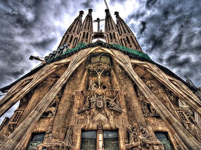 La Sagrada Familia (Espagne)