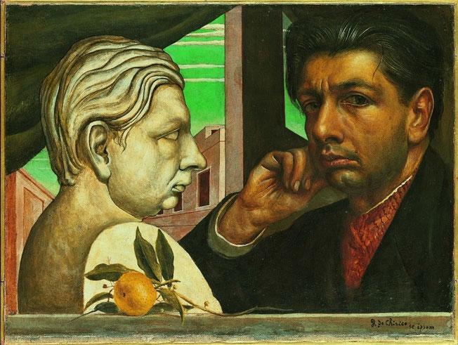 Giorgio de Chirico - Autoportrait - 1922/1924