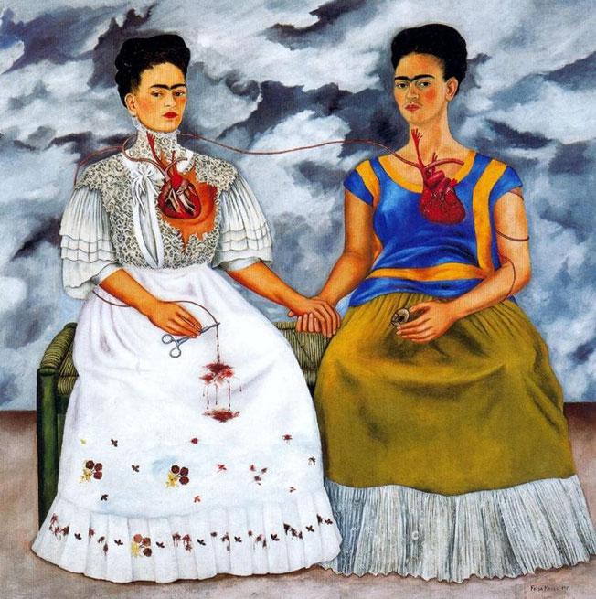 Frida Kahlo - Les deux Frida (1939)