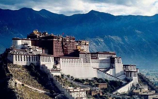 Le Palais du Potala (Tibet)