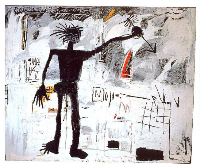 Jean Michel Basquiat - Autoportrait - 1982