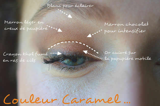 make-up-automne-couleur-caramel