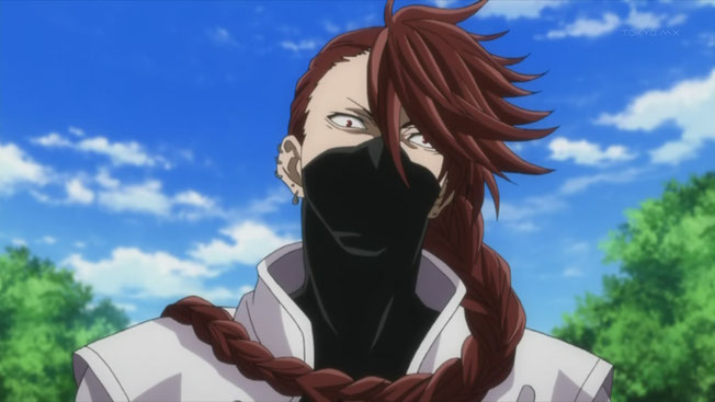 Personnage du manga Brave10 se nomant Hattori Hanzo. Source: http://braveten.wikia.com/wiki/Hanzo_Hattori
