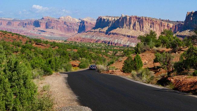 USA Reise: Dreiwöchige Rundreise zu den Nationalparks im Westen. Reiseroute.