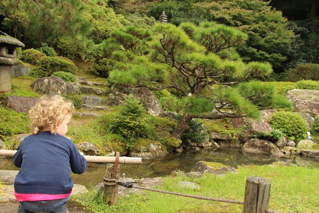 Kyoto - 7 Day Itinerary For Active Families with Small Kids - A Walk Through the Shoren-in Temple