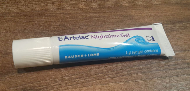 Artelac Nighttime Gel Tube