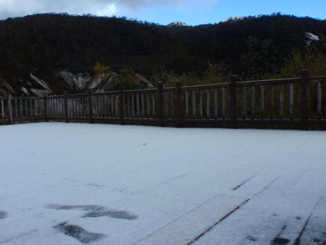 2016年の初雪
