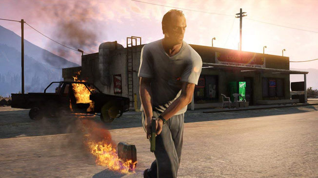 Beste Shooter Spiele: Grand Theft Auto 5