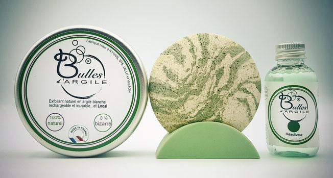 Bulles d'argile, votre cosmétique durable ZERO DECHET