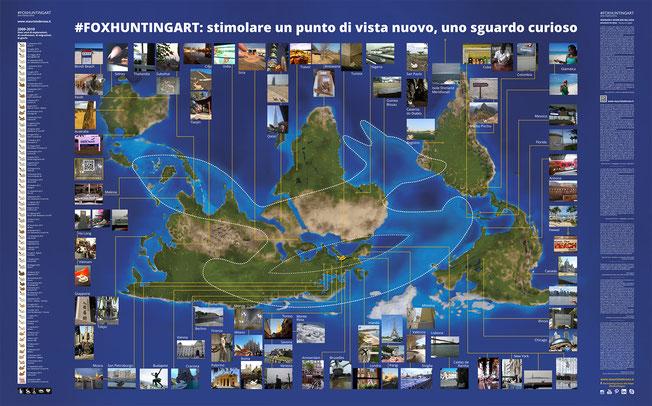 10° anniversario celebrato con la raccolta selezione, di  foto arrivate da più di cento paesi diversi da tutto il mondo, in dieci anni di attività. in oltre 50 azioni  partecipate.