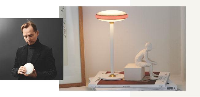 Der Leuchtenhersteller Shade kombiniert die Spitzentechnologie mit skandinavischen Design mit ihrer Smart-Lampenserie ØS1. Die Leuchte lässt sich individuell in ihrer Intensität, Farbe und Temperatur per App oder Schalter steuern.