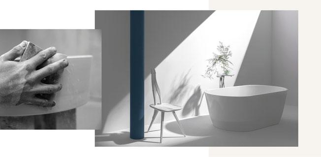 Das Schweizer Unternehmen Laufen stellt hochwertige Keramik her, die durch innovative Lösungen nachhaltig und umweltgerecht regional produziert werden.