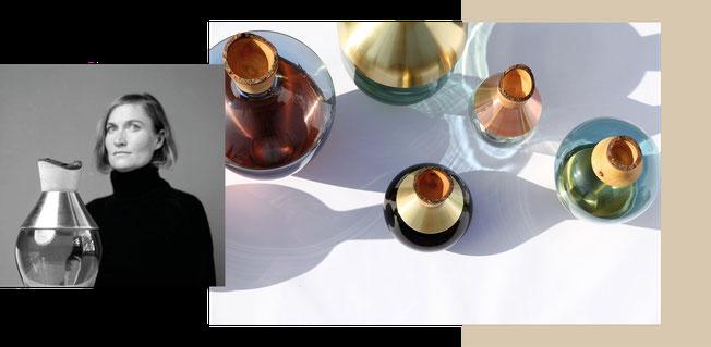 Utopia & Utility kombiniert traditionelle Materialien auf ganz innovative Weise und erschafft Kunstobjekte. Ob Vase, Schale oder Deko-/Kunstobjekt, die Produkte können alles sein.