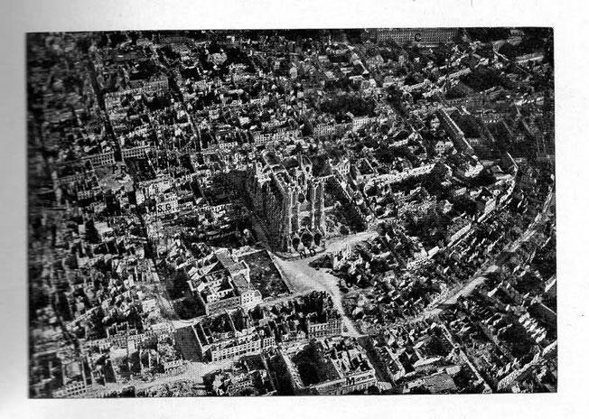 Reims en janvier 1919