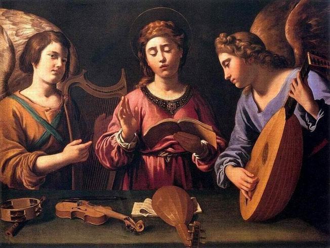Saint Cecilia van Antiveduto Gramatica