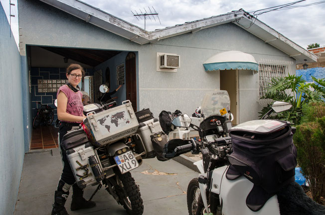 Brasilien - Motorrad - Reise - Worldtrip - Motorcycle - Südamerika - South america - Ankunft in Foz do Iguacu