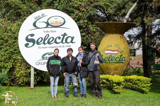 Paraguay - Motorrad - Reise - Worldtrip - Motorcycle - Südamerika - South america - Zu Besuch bei Selecta,einer der größten Mate Tee Produzenten