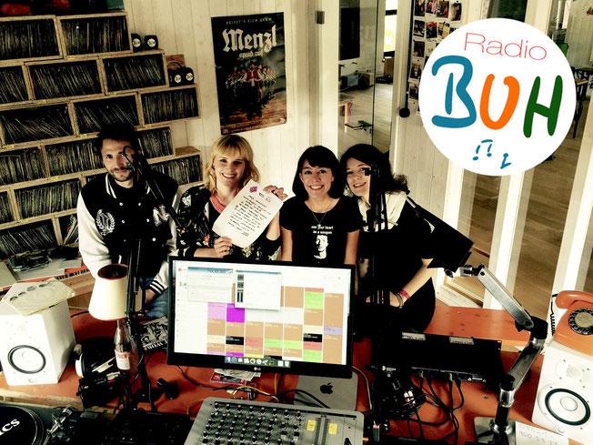 JanaJa bei Radio Buh