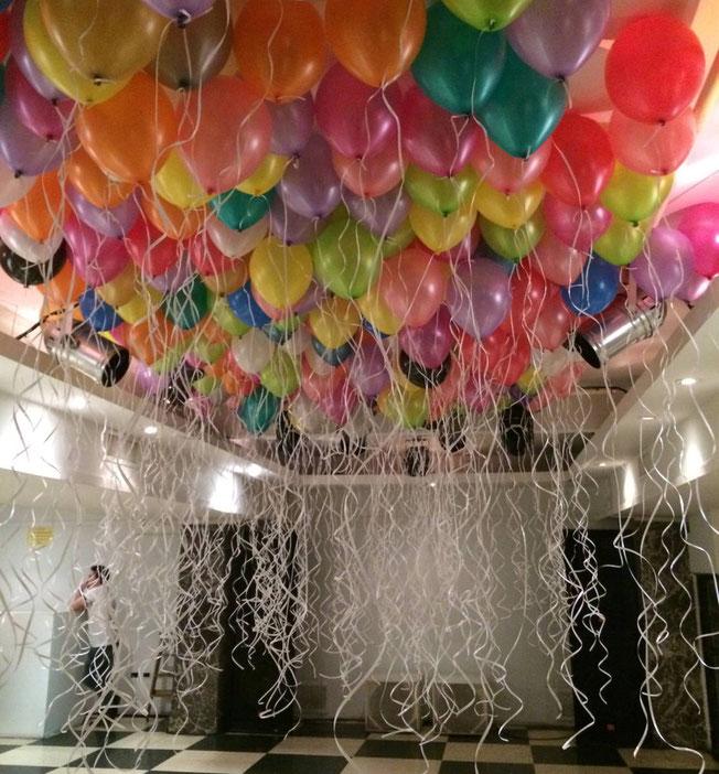 globos con helio fiesta en casa