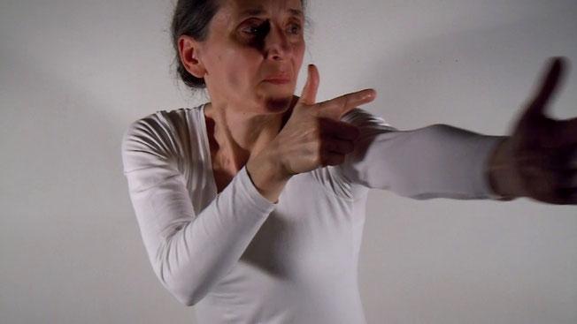 Paola Romoli Venturi, performance WE, 2017, MACRO